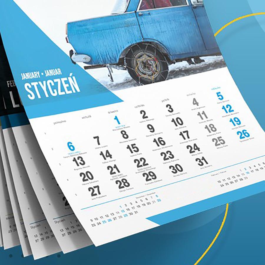 kalendarze gotowe